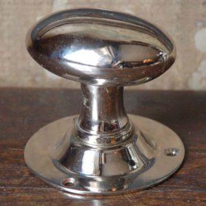 Oval door-knob