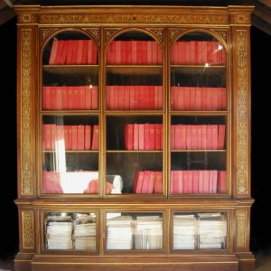 The Dorchester House Bookcase, a remarkable early Victorian bookcase in the Italianate style-0