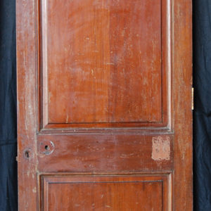 mahogany two panel door