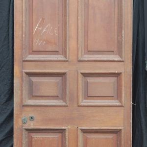 large eight panel oak doors