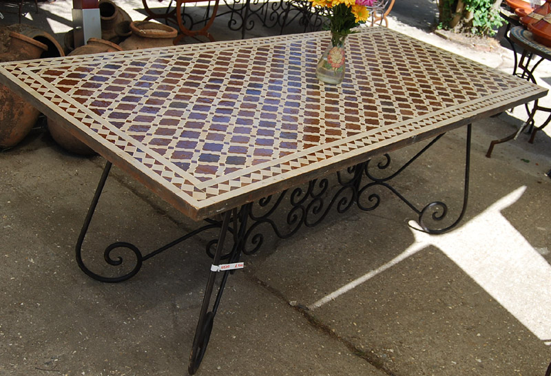 A Moroccan bistro table-0