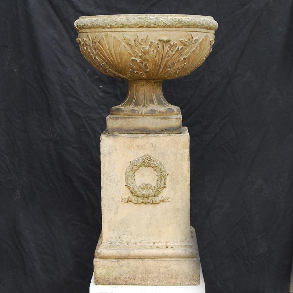 Blashfield Urn on stand