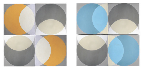 Encaustic 'Elipse' floor and wall tiles by Lindsey Lang-77507