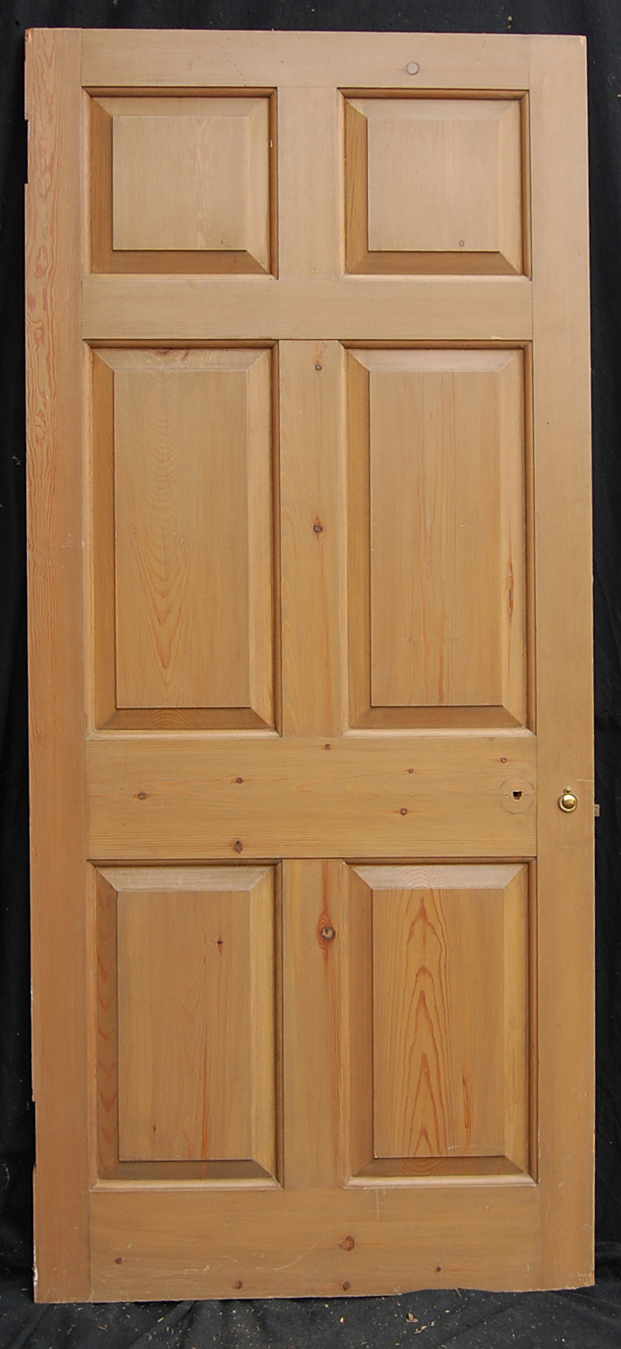 A six panel pine door-0