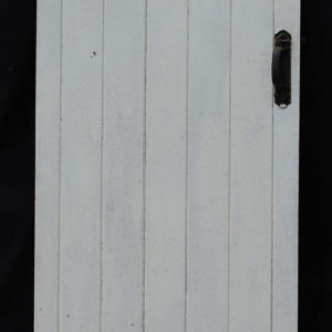 An Edwardian pine cottage door-0