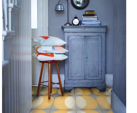 Encaustic 'Elipse' floor and wall tiles by Lindsey Lang-77508