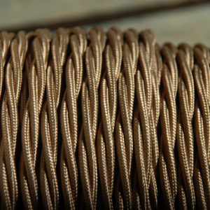 Havana Gold triple twisted electrical cable-0