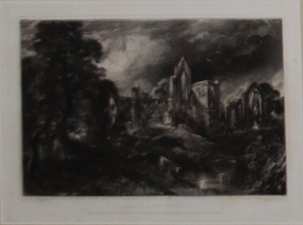 Castle Acre Priory, by John Constable and David Lucas-0