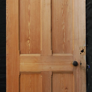 four panelled pine door