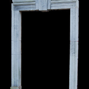 A Portland stone doorcase-0