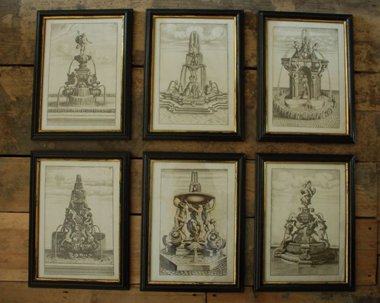 17th century Achitectural Fountains-0