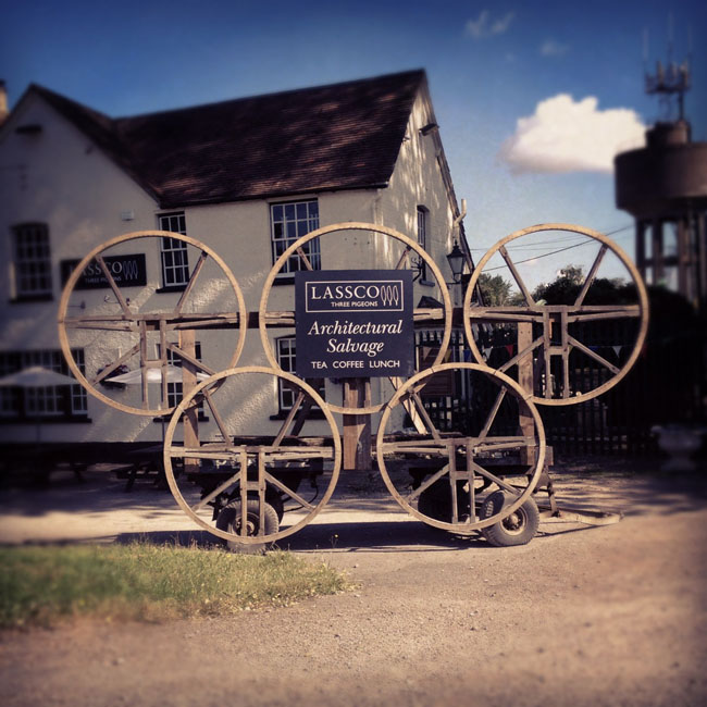 A series of Victorian oak, ash and elm Bell Wheels-0