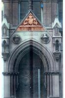 A magnificent Victorian Gothic Portlandstone entranceway-65030
