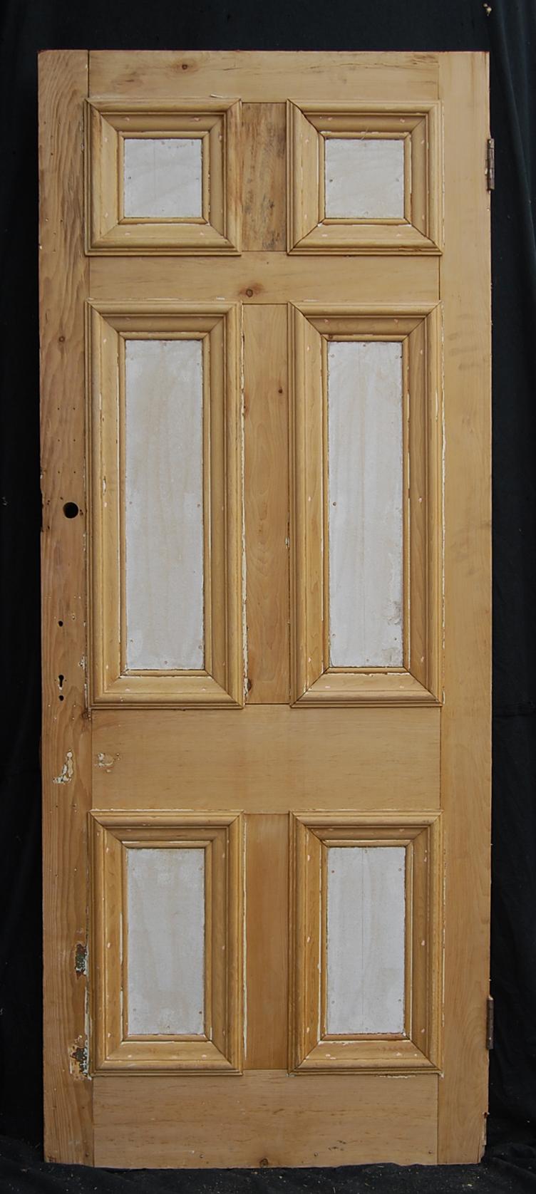 A six panel pine door-67112