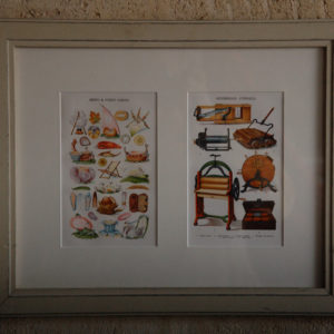 Mrs Beeton, Cromolithographs, mounted and framed-0