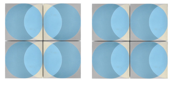 Encaustic 'Elipse' floor and wall tiles by Lindsey Lang-77503