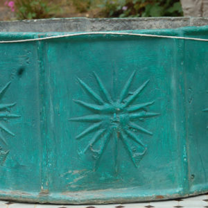 A number of 19th century lead planters-0