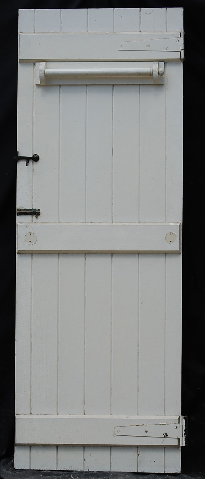 An Edwardian pine cottage door-68246