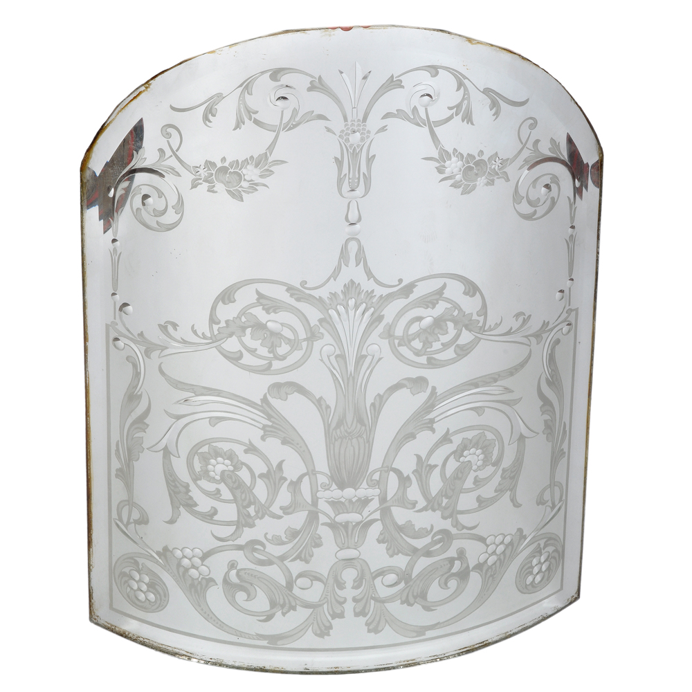An exceptional collection of late nineteenth century pub mirrors and etched and bevelled glass-79619