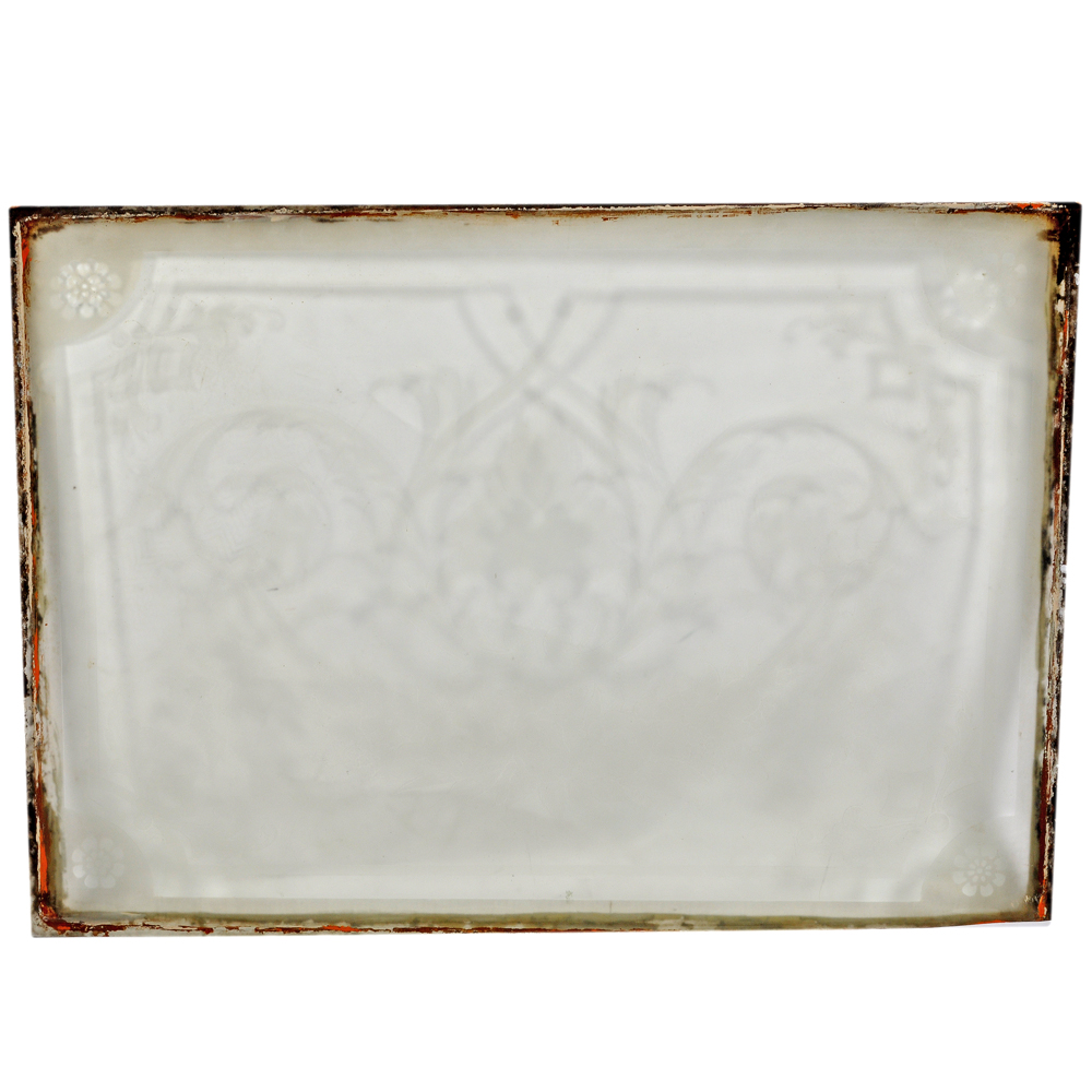 An exceptional collection of late nineteenth century pub mirrors and etched and bevelled glass-79626