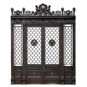 The Empire House bronze doorway-0