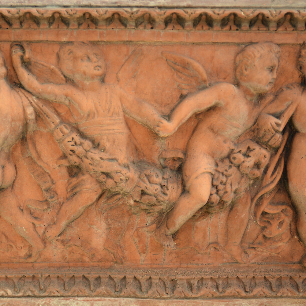 An Italian composition stone rectangular jardiniere-84081