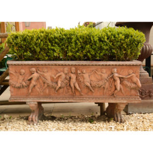 An Italian composition stone rectangular jardiniere-0