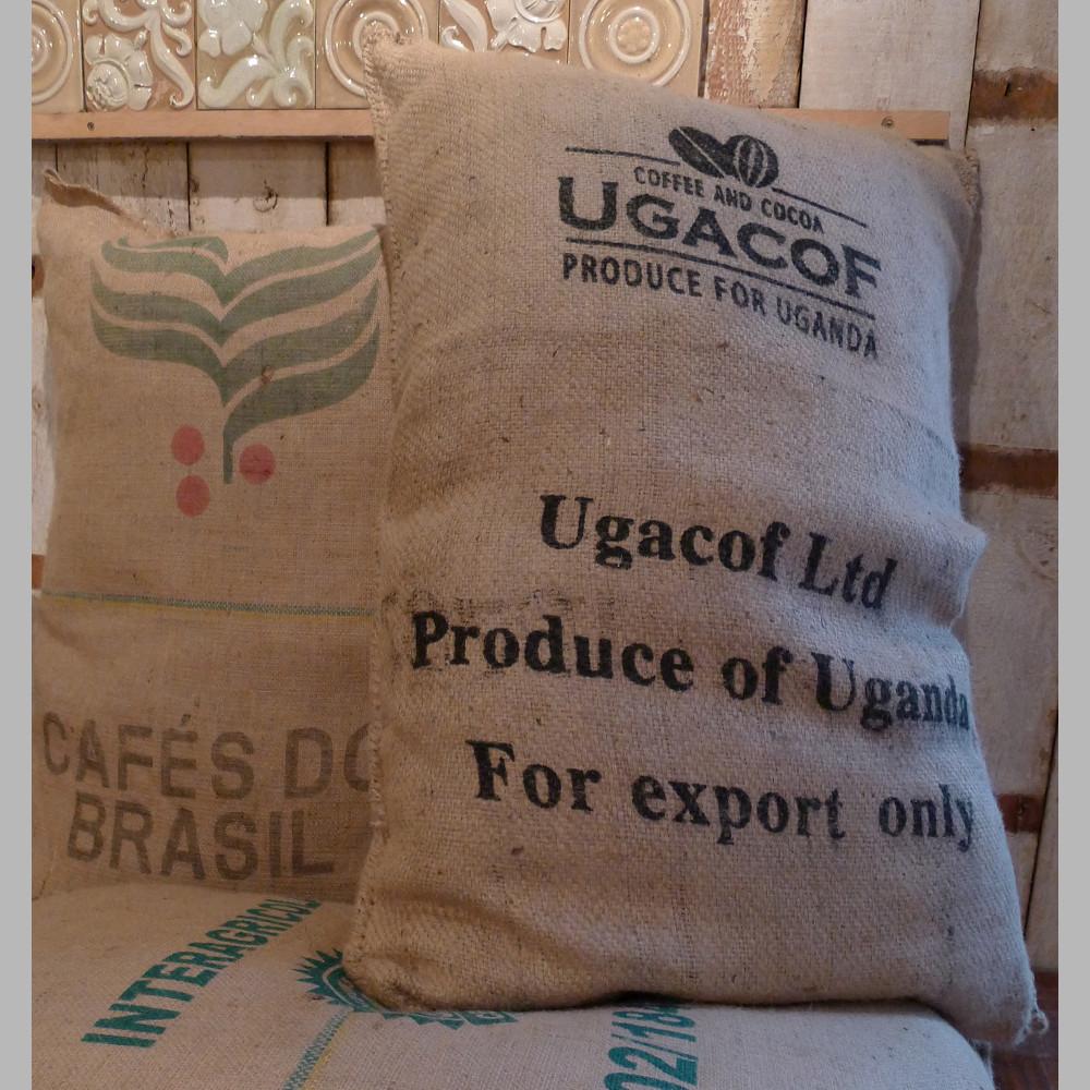 Coffee sack floor cushions-81274