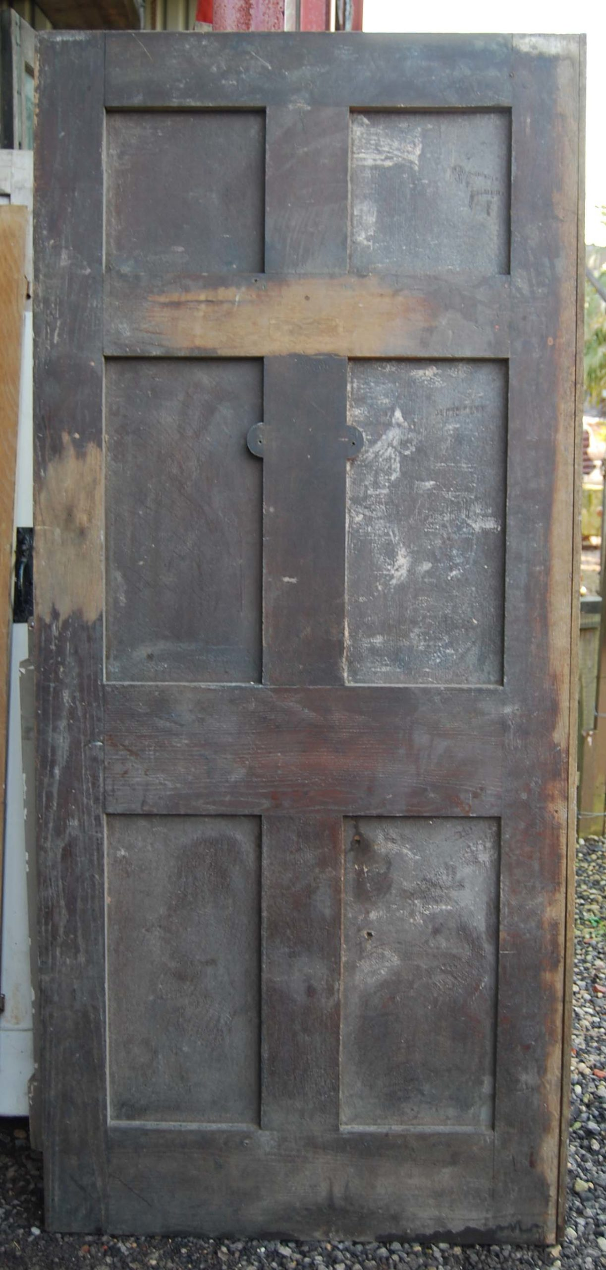 A good six panel oak door-81461
