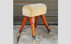Vintage pommel horse,