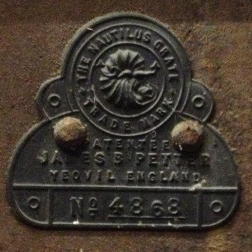 Nautilus Grate - stamp
