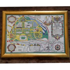British Empire Exhibition Map-0