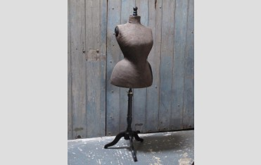 A French dressmaker's dummy