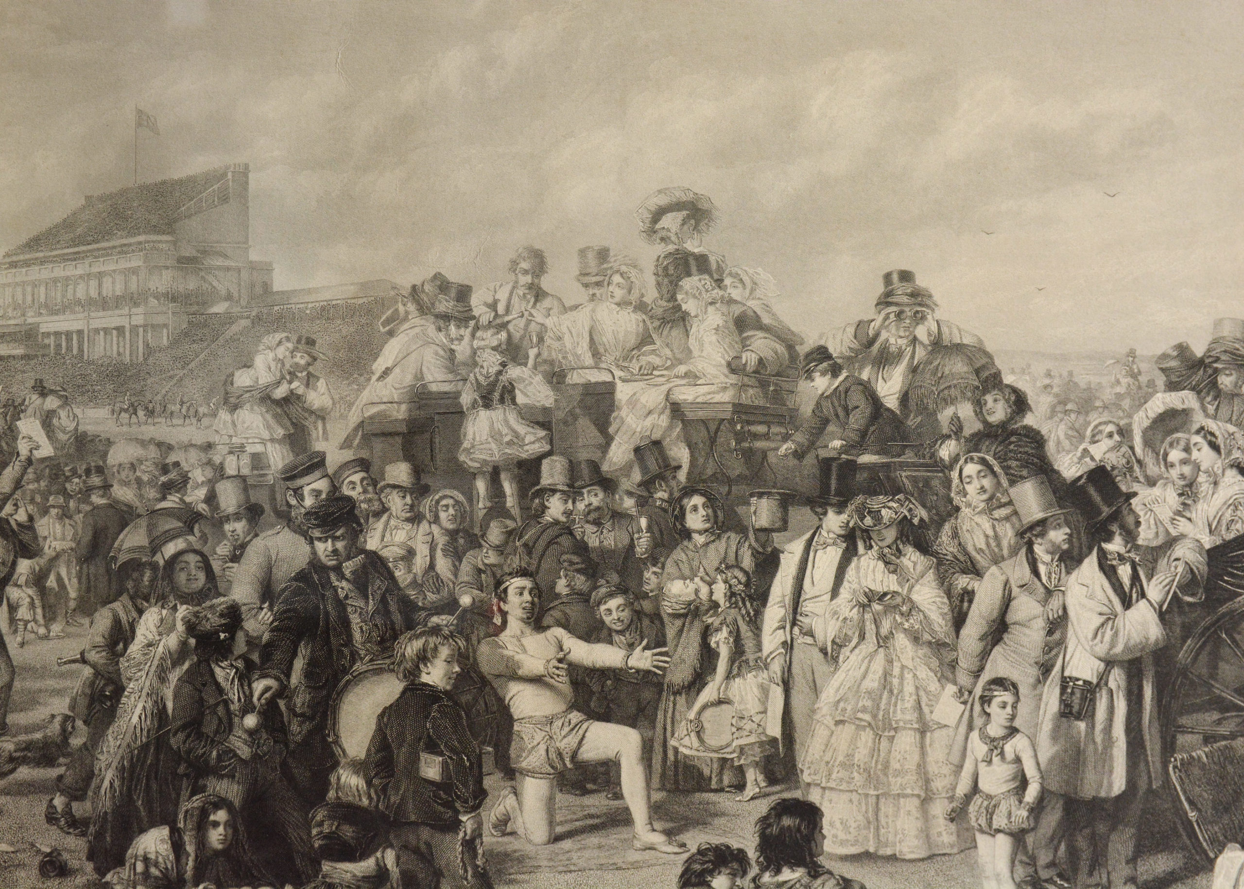 Derby Day, by William Powell Frith, RA (1819 – 1909)-94734