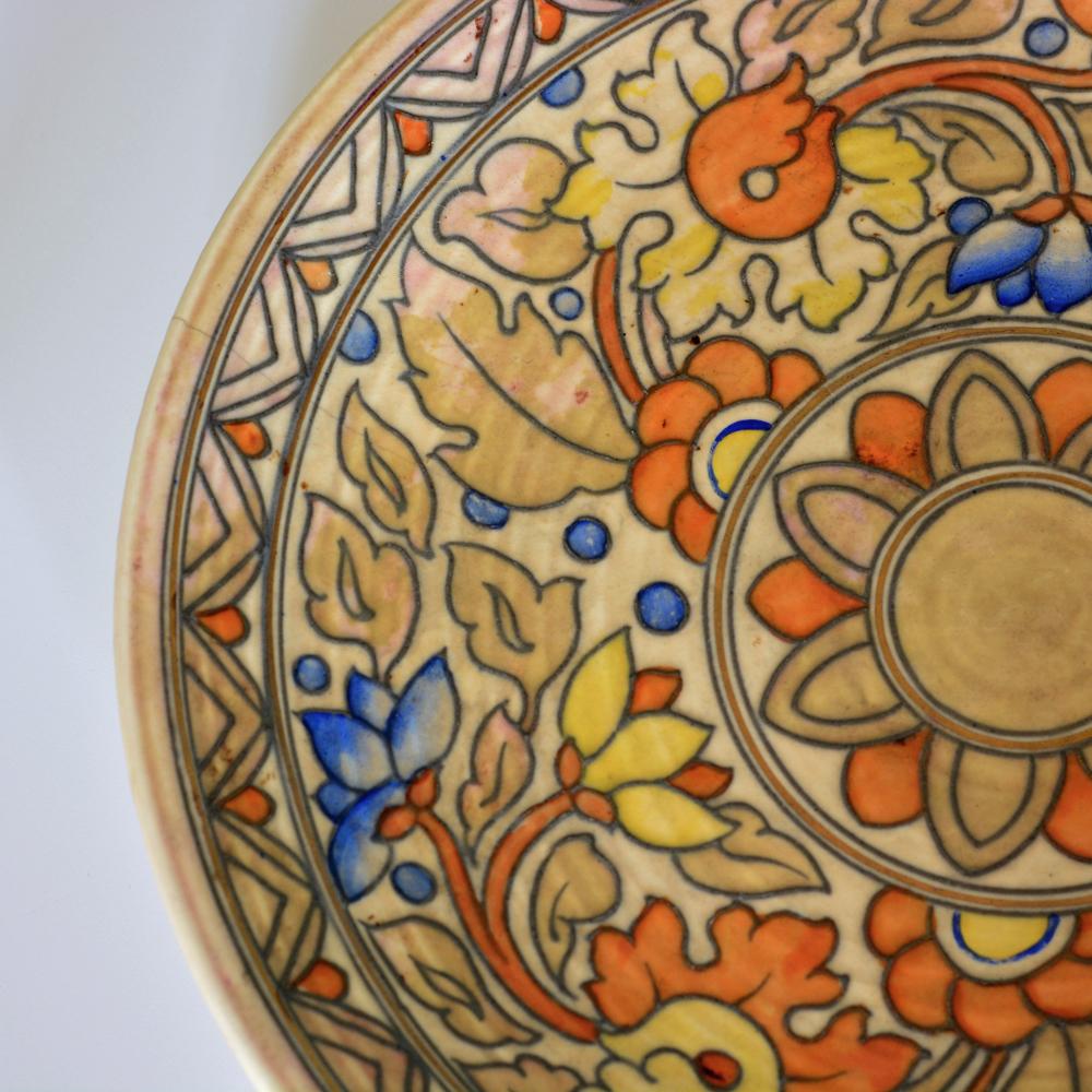A large Ankara pattern wall charger-82111
