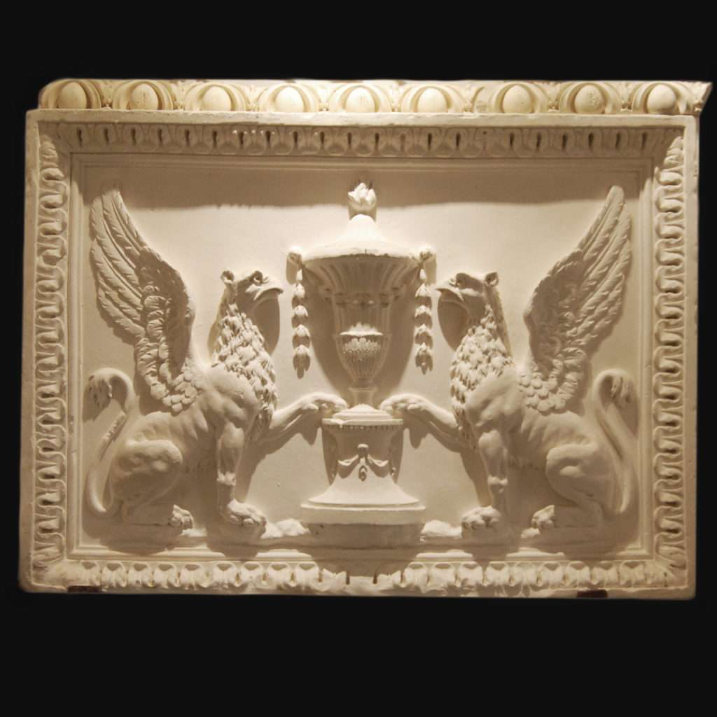 Griffin relief - after Coade's original for Robert Adam