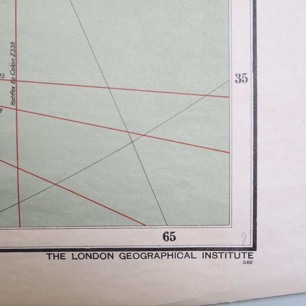 British Empire School Map, the Dominion of Canada-83554