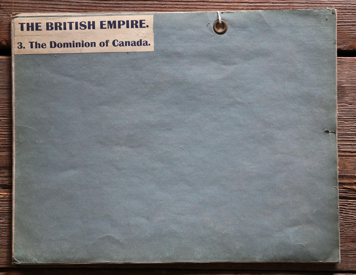 British Empire School Map, the Dominion of Canada-83556