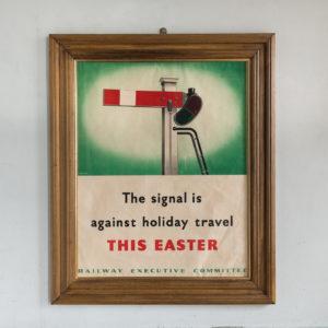 Original World War Two Poster,