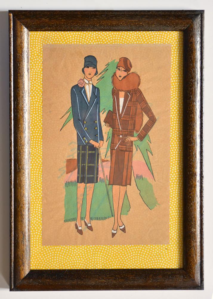 Original 1920's Fashion Illustrations-83793