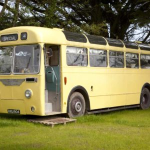 An original 1950s Leyland Cub bus-0