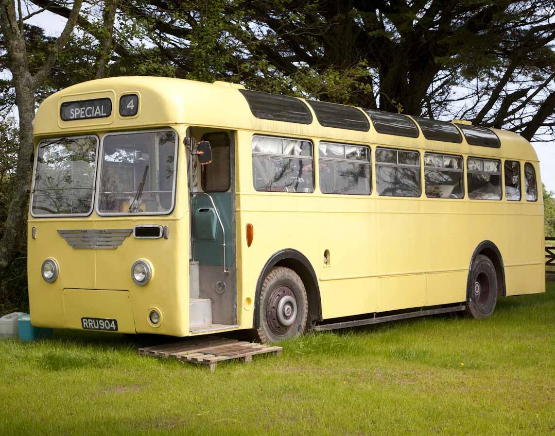 An original 1950s Leyland Cub bus-0