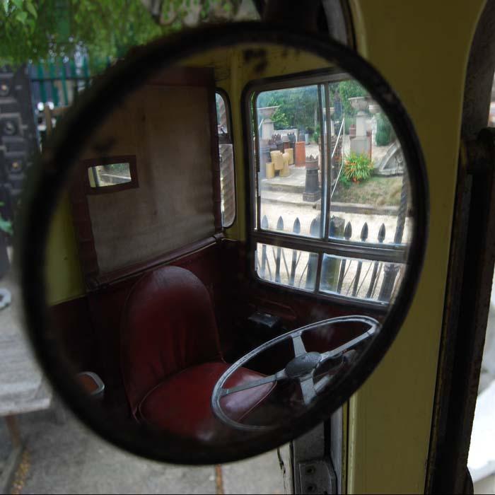 An original 1950s Leyland Cub bus-84313