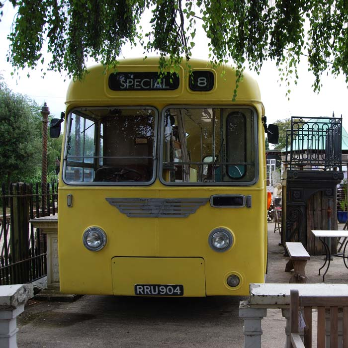 An original 1950s Leyland Cub bus-84311