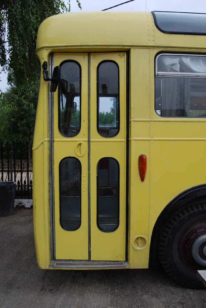 An original 1950s Leyland Cub bus-84318