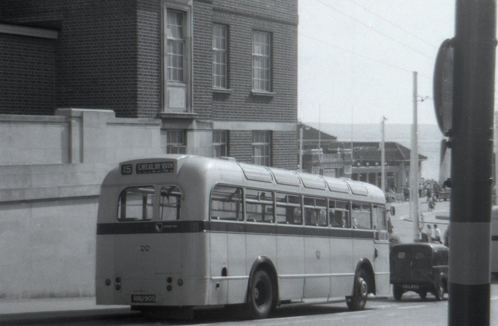 Boscombe Beach Bus c.1958