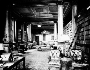 The Library at the Old Conservative Club