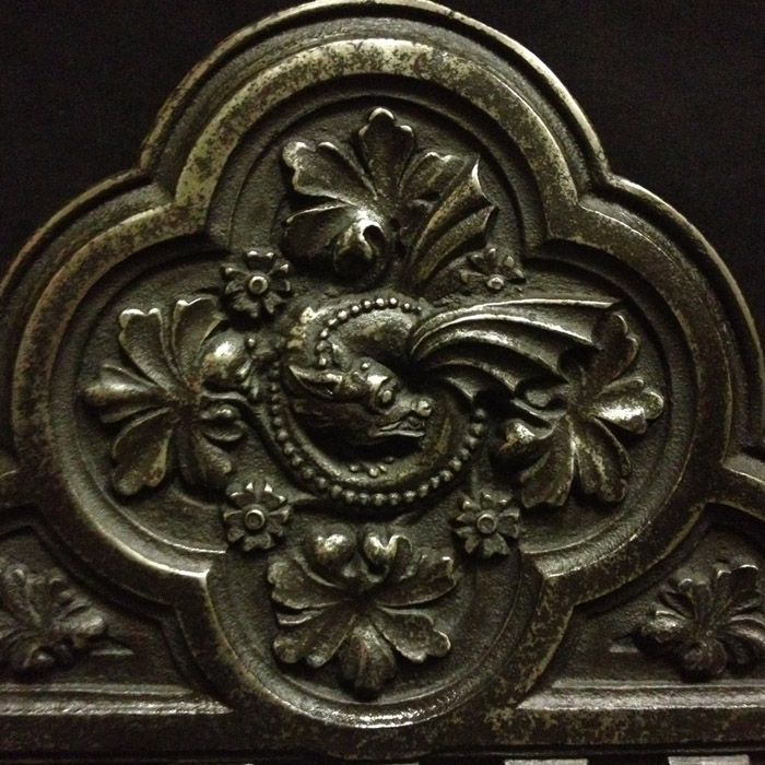 Victorian firegrate (detail)