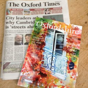 Front Cover of Oxford Times