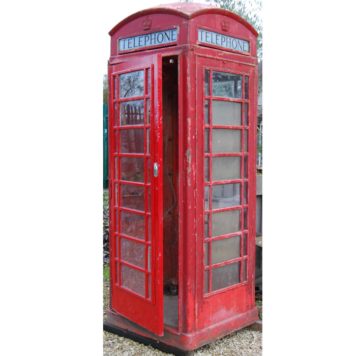 Red Telephone box, K6